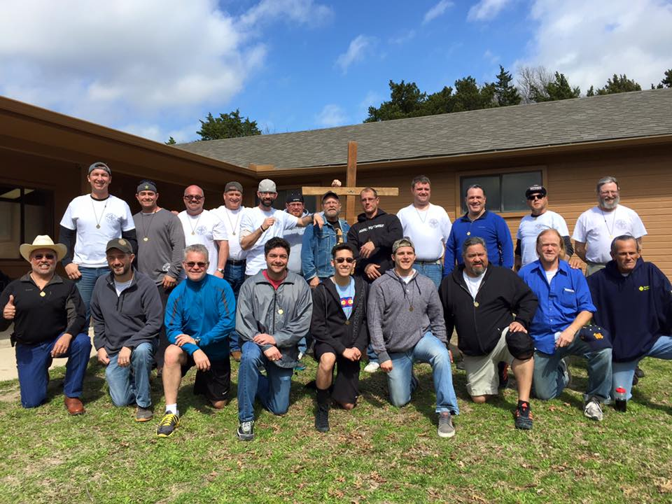 New Brothers Marked Men for Christ Phase 1 weekend #208 Texas February 2016