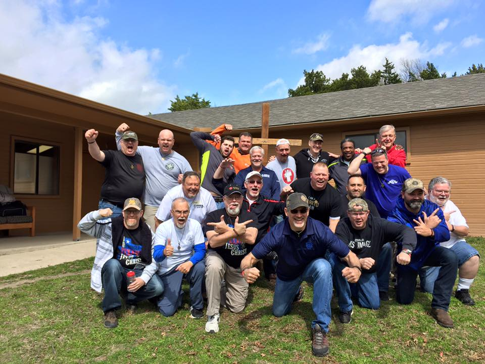 Staff for Marked Men for Christ Phase 1 weekend #208 Texas February 2016
