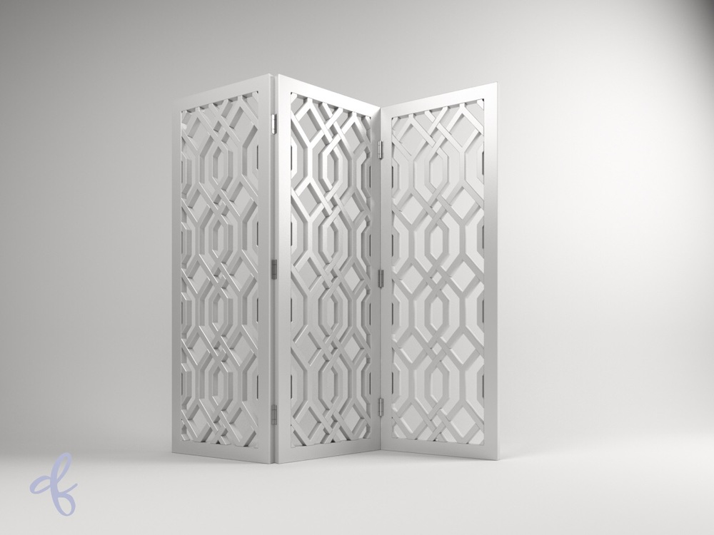 Trellis screen