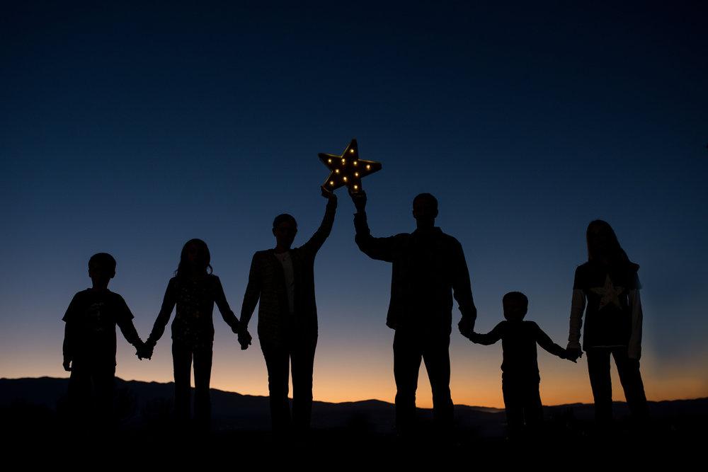 silhouette-family-photography-logan-utah