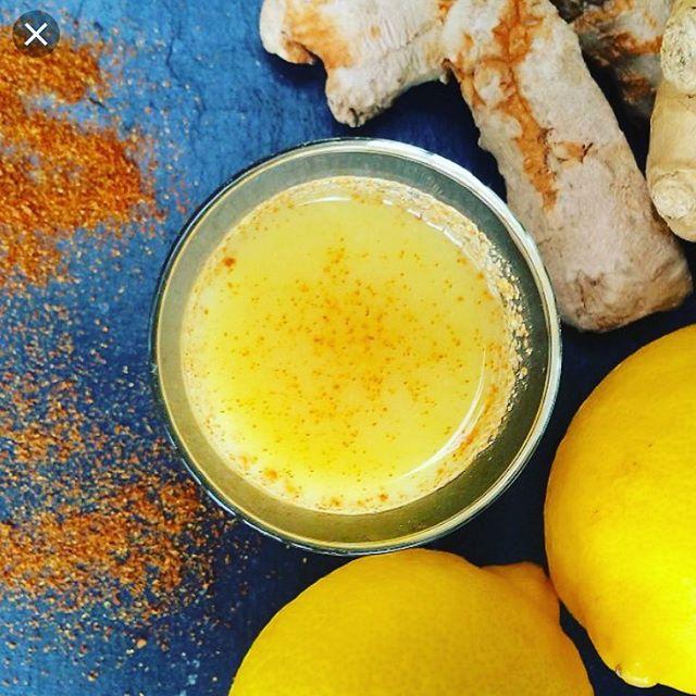 Flu Shot. Ginger ~ Lemon ~ Cayenne. @bridge_span_14