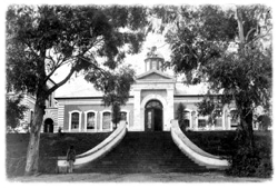 Dr. Fitzgerald's hospital in King Williamstown. Courtesy the National Library of South Africa.