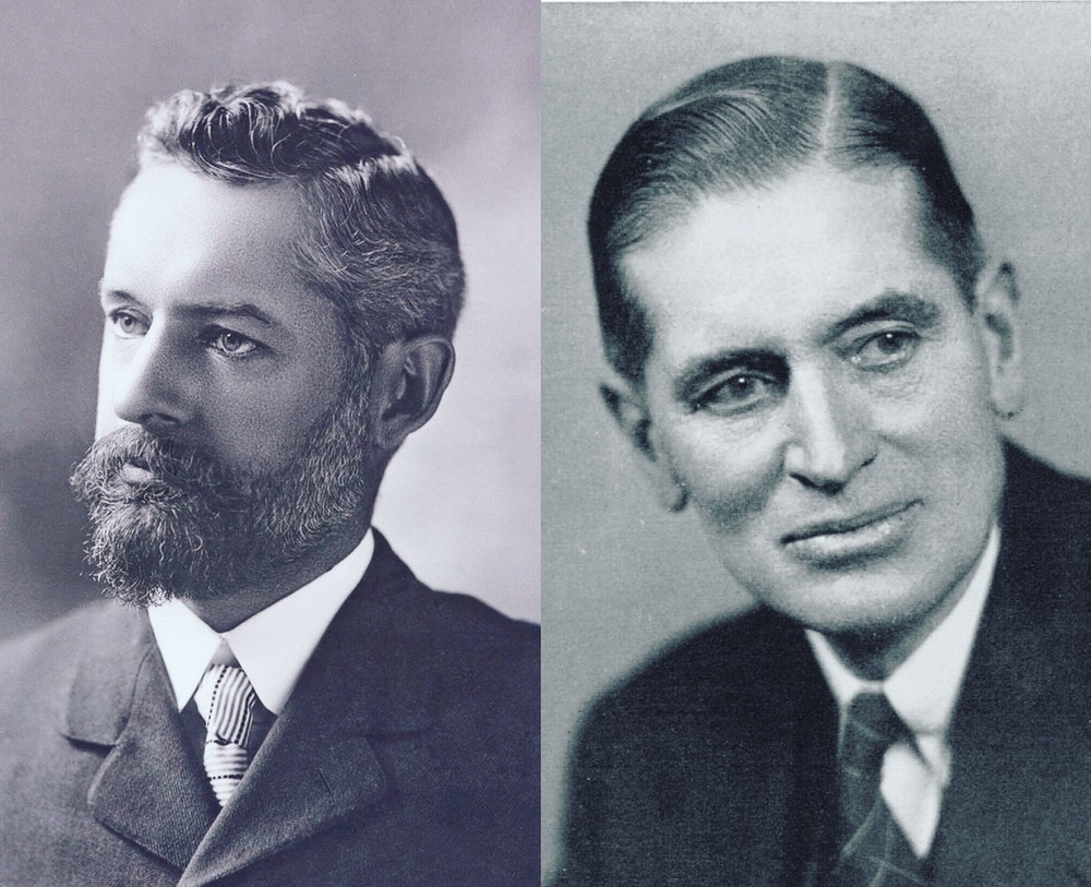 Edward William Nelson (left) and Edward Alphonso Goldman (right)