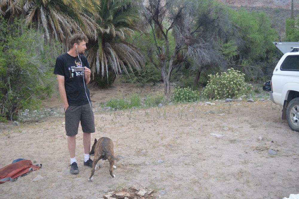 JT with Leroy