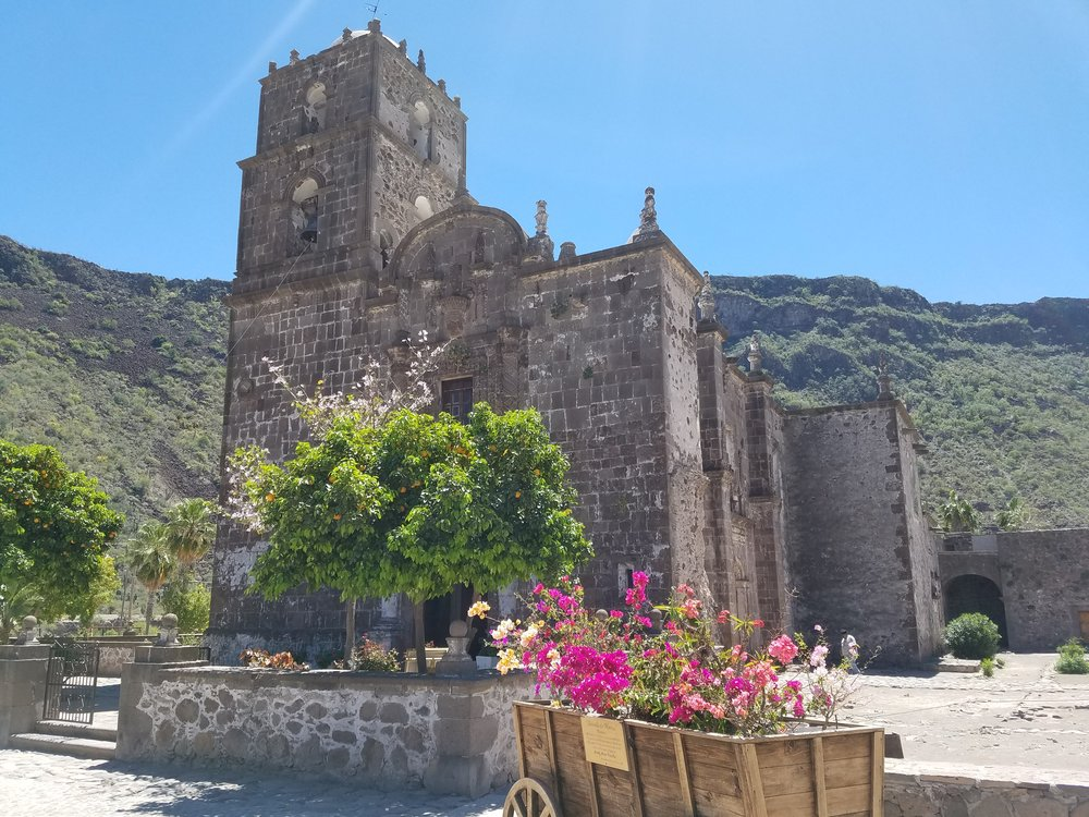 The picturesque San Javier Mission
