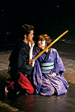 """BUTOH ELECTRA    """"Truly this is a movement piece and all the prformers on stage are masters of it."""" -    NYTheater.com     """"Director Jordan Rosin's successful synthesis of classical Greek and Japanese traditions enriches the myth at the piece's core, as do commanding, physically impressive performances from the Ume Group."""" -    VillageVoice.com    named Butoh Electra one of the highlights of the NY Fringe Festival    """"Butoh Electra manages to drive its points home through the strong physical acting of its 10-member ensemble."""" -    CurtainUp.com"""