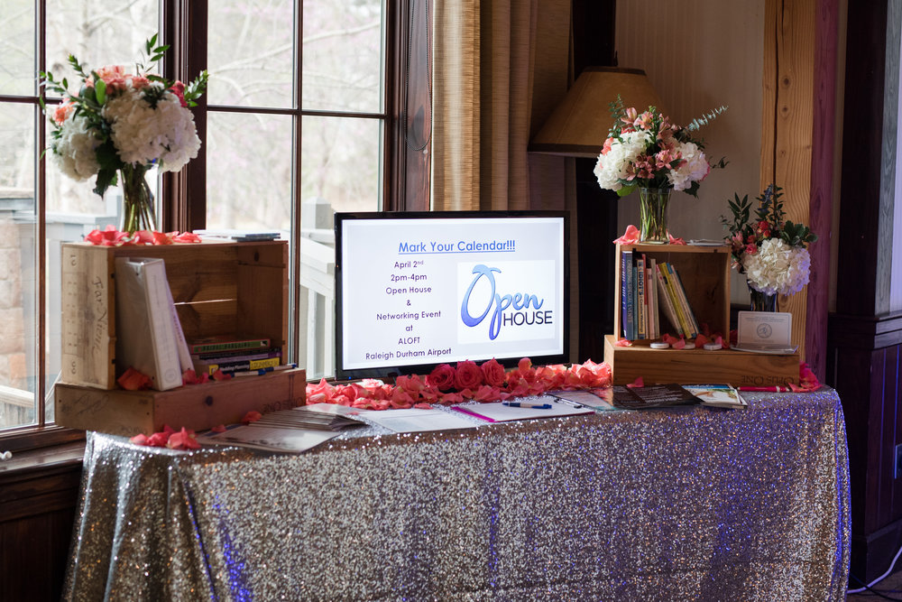 The Association of Bridal Consultants table display