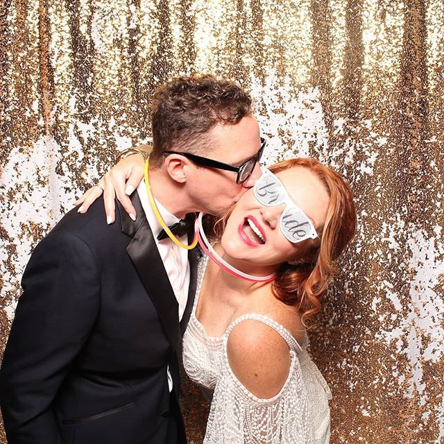 THIS is how you should look on your wedding day.  Happy, relaxed and happily married!!! ⠀⠀⠀⠀⠀⠀⠀⠀⠀ We can get you there.  Give us a call!!! ⠀⠀⠀⠀⠀⠀⠀⠀⠀ Photobooth: @ Shutterboothclt