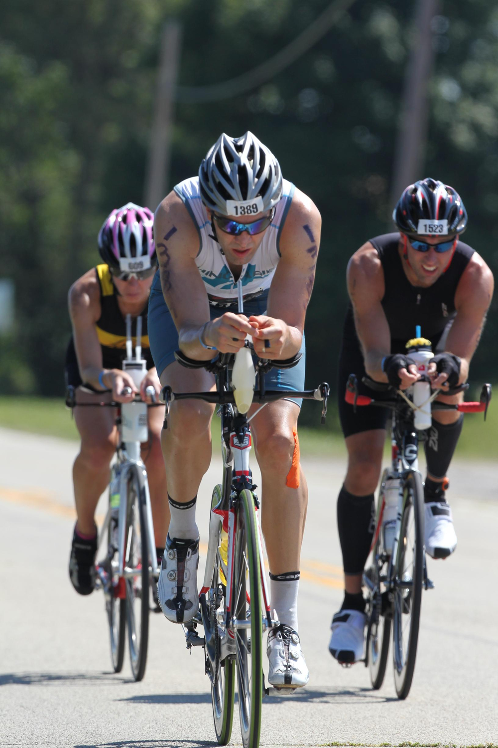 Jason in Ironman Louisville 2013