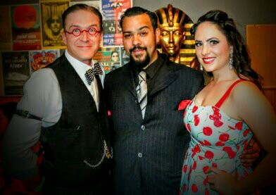 Magician Roger Lopez of Black Platinum Illusions