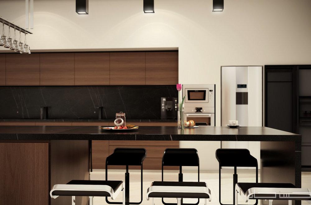 Modern Kitchen 3d Design modern kitchen — hassan jaber
