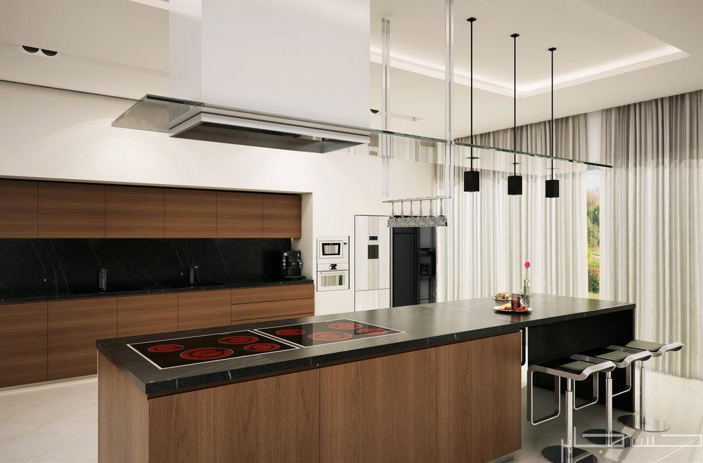 Modern Kitchen 3d Design stunning 3ds max kitchen design contemporary - 3d house designs