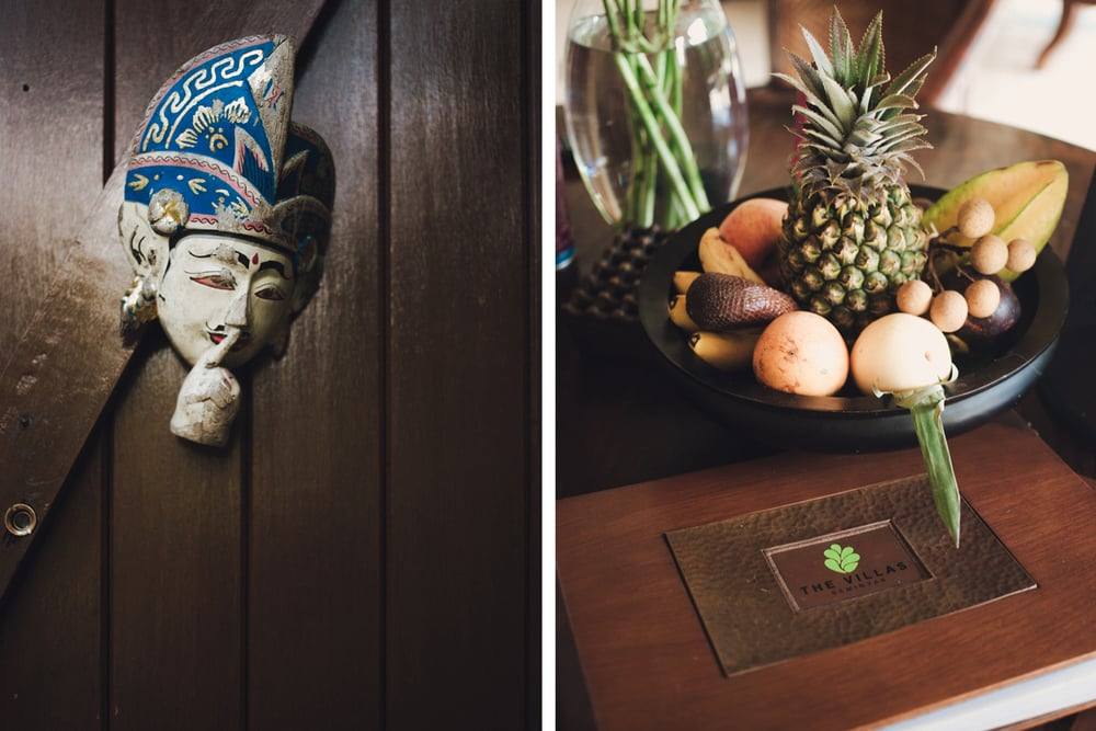 Details at The Villas Bali