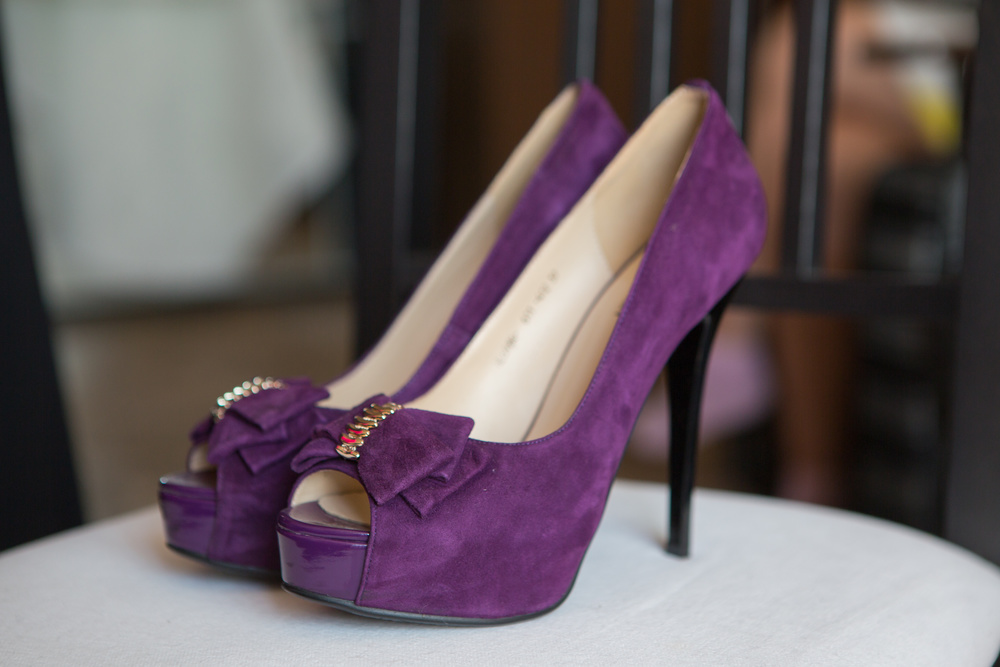 Purple is the color of the season, the historical favorite of royalty & nobility