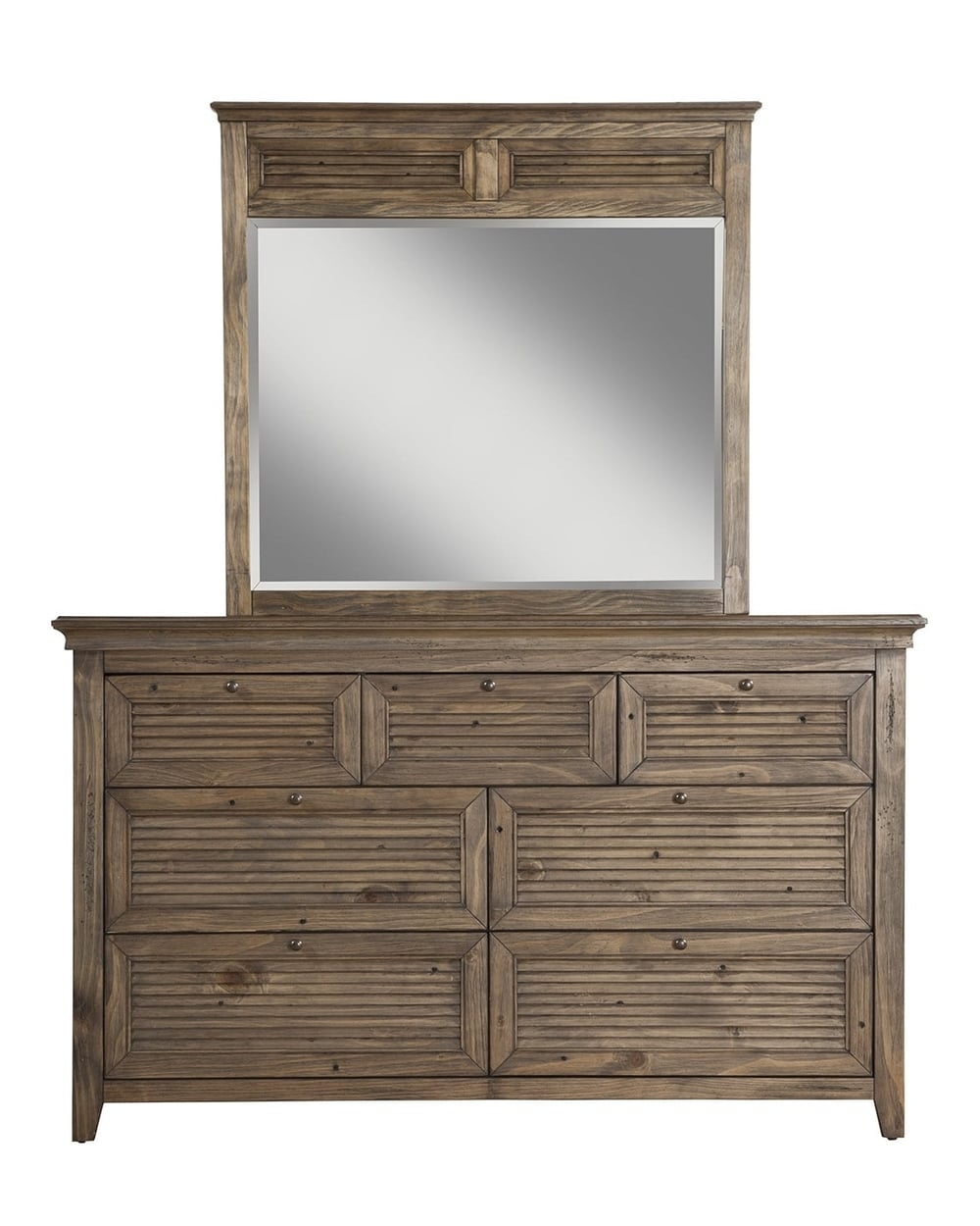 Remington 7 Drawer Dresser w/ Mirror