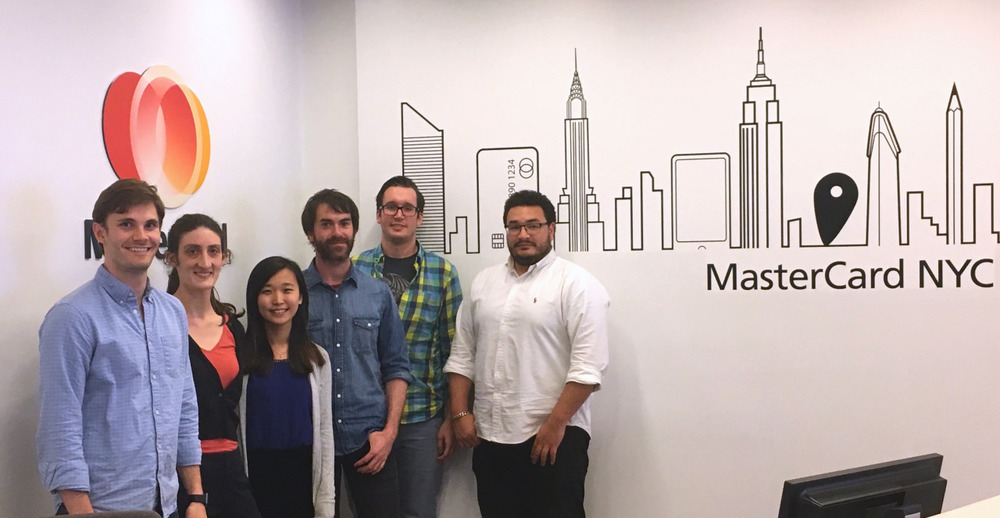 Team at MasterCard NYC Office