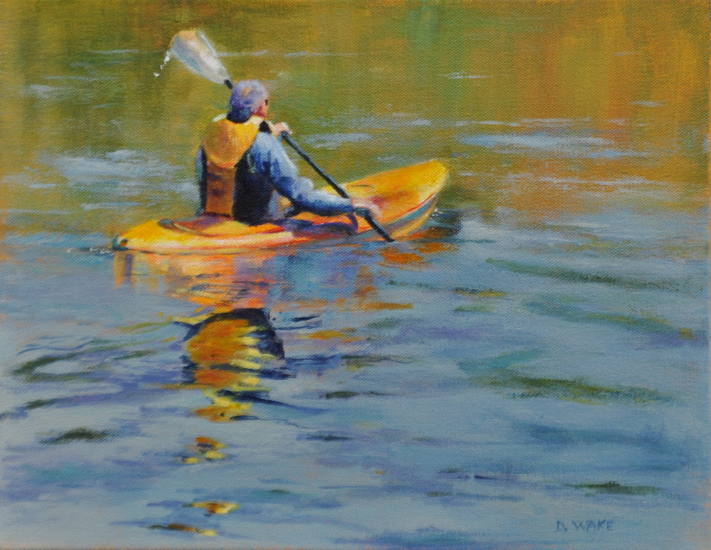 Donna Wakefield, Out for A Paddle