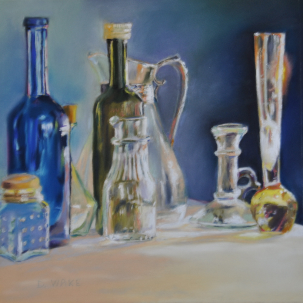 Donna Wakefield, Glass Bottles