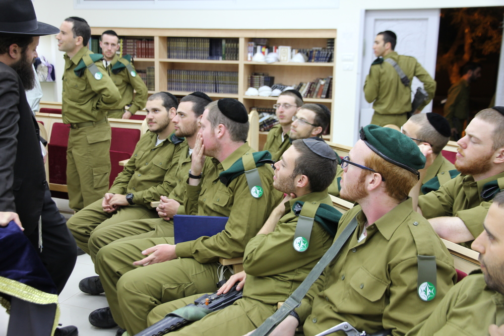 During their service, our students will have classes and stay in touch with their Rabbis