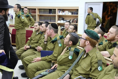 THE THIRD AND FORTH YEARS - MILIARY SERVICE AND NIGHTLY YESHIVA STUDIES