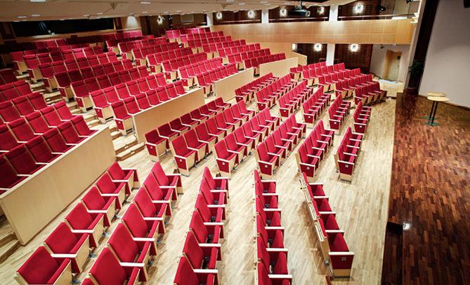 Essingesalen, en av Sveriges absolut bästa hörsalar.