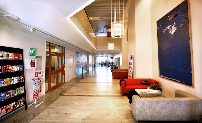 Marmorgången är namnet på vår utställningsyta för minimässor eller event.