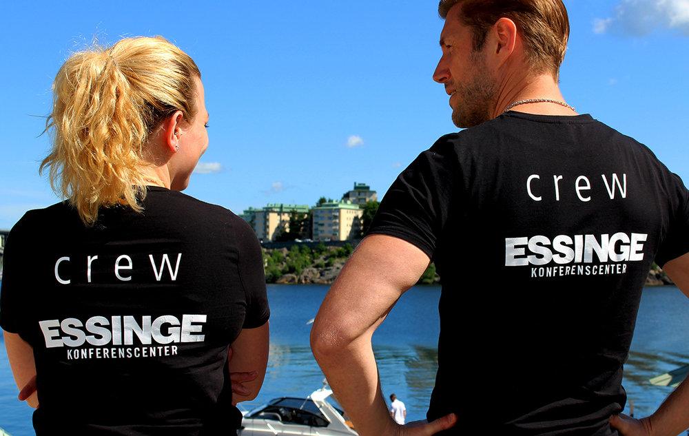 Personalen på Essinge Konferenscenter.