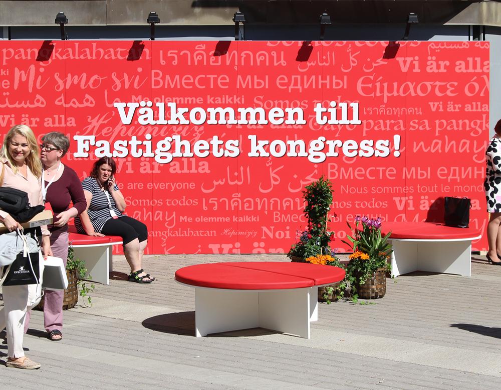 Fastighets kongress 2018 pågår på Essinge Konferenscenter i Stockholm.