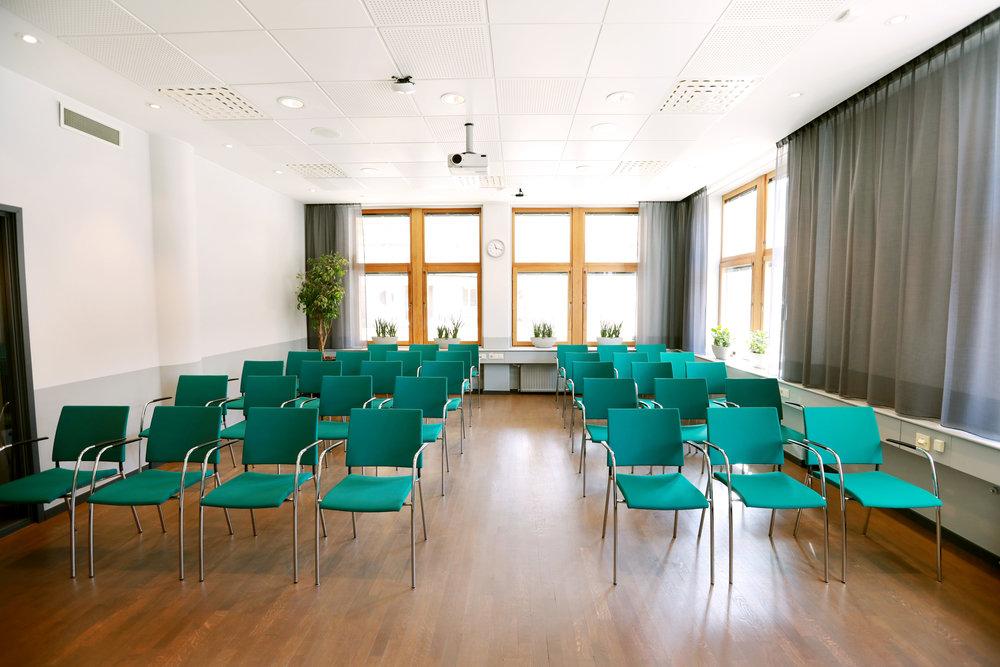 Lovö, mötesrum för workshops, kurser och utbildningar.