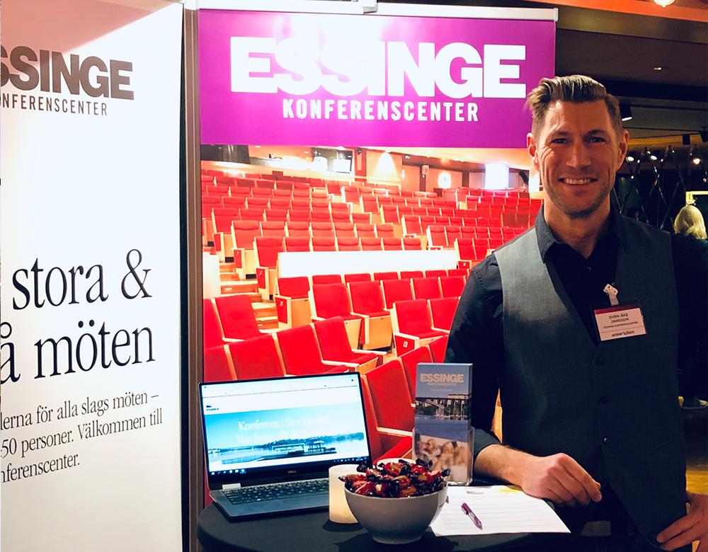 Essinge Konferenscenter på Stora Möten & Event 2018.