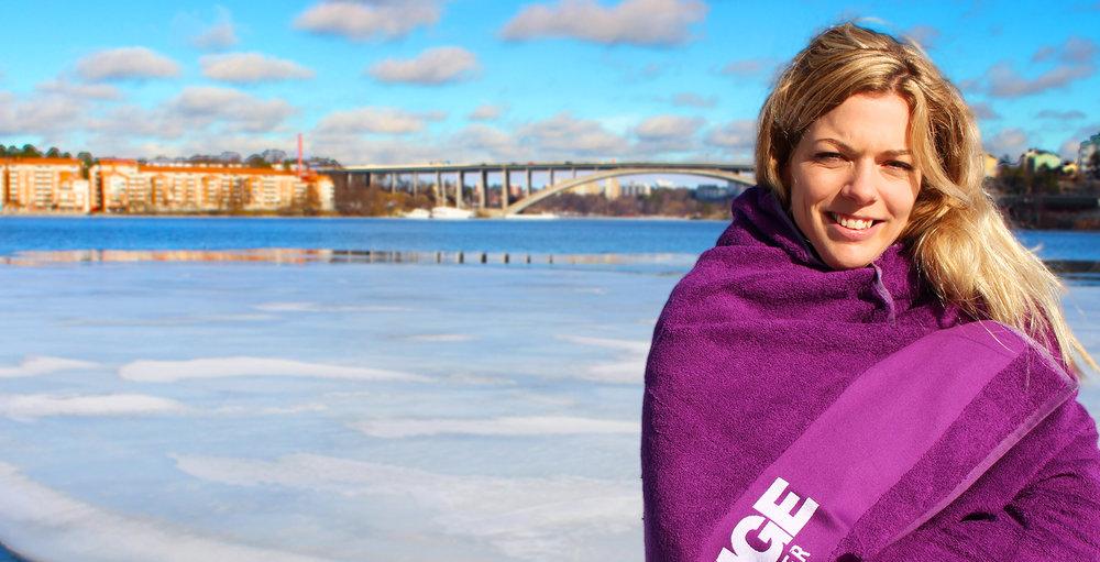 Frottéhandduk från Essinge Konferenscenter