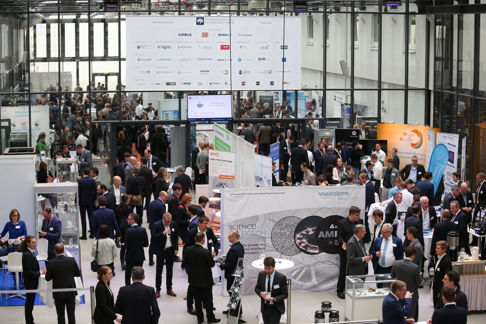 ADDITIVE MANUFACTURING FORUM Berlin - Exhibition
