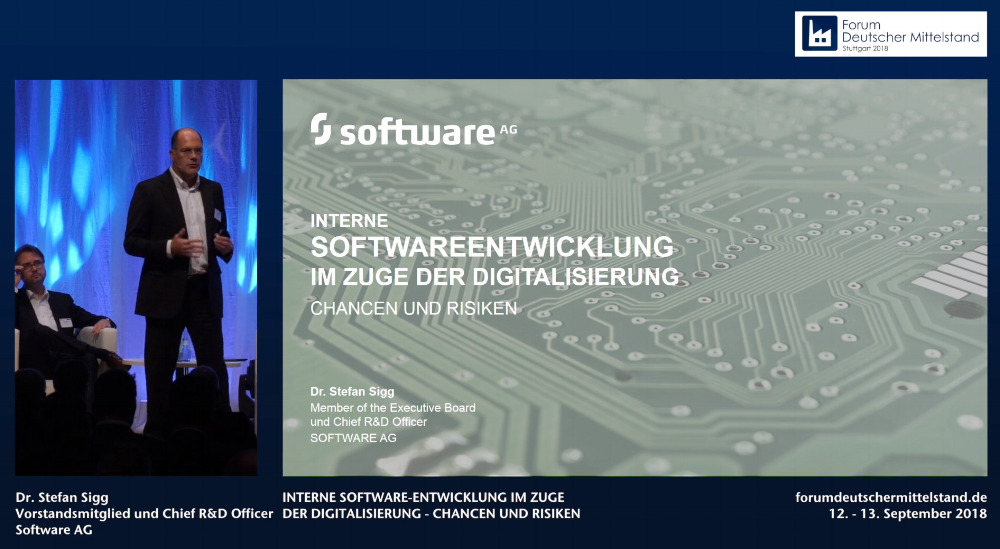 Internal Software Development in the course of Digitization