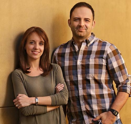 Lauren Montgomery and Joaquim Dos Santos