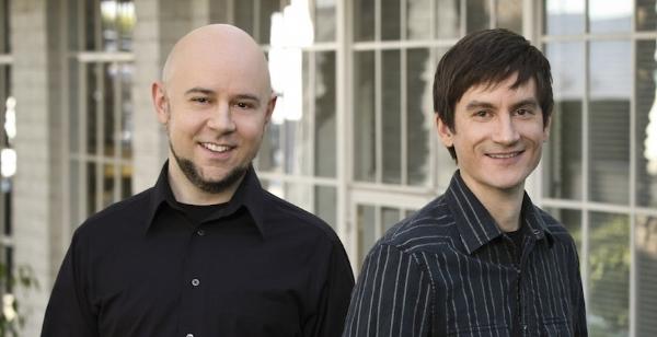 'Avatar: The Last Airbender' creators Michael Dante DiMartino (left) and Bryan Konietzko