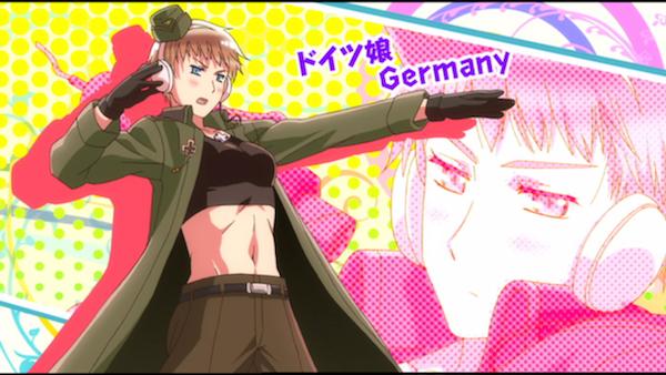 Fem Germany from 'Hetalia'
