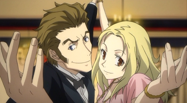 Isaac (left) of 'Baccano!'