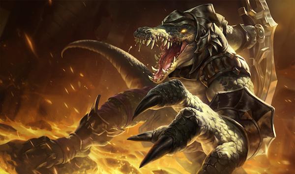 Renekton of 'League of Legends'