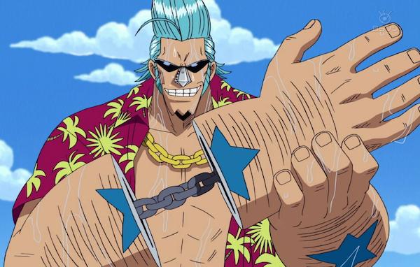 Franky of 'One Piece'