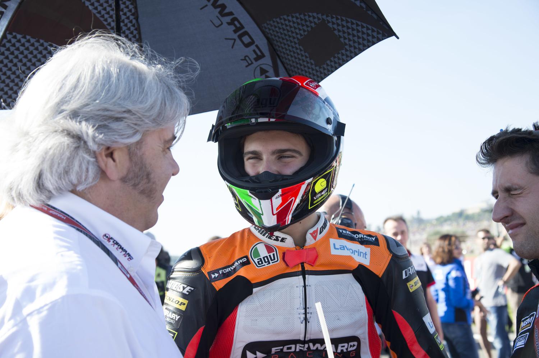 Baldassarri a whisker away from the podium in Valencia