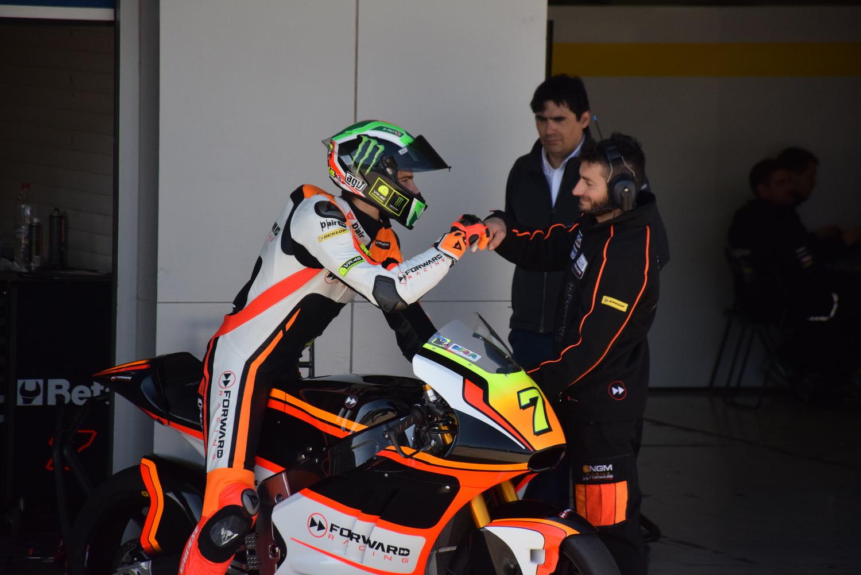 Second testing day at Jerez, good progresses for Baldassari and Marini