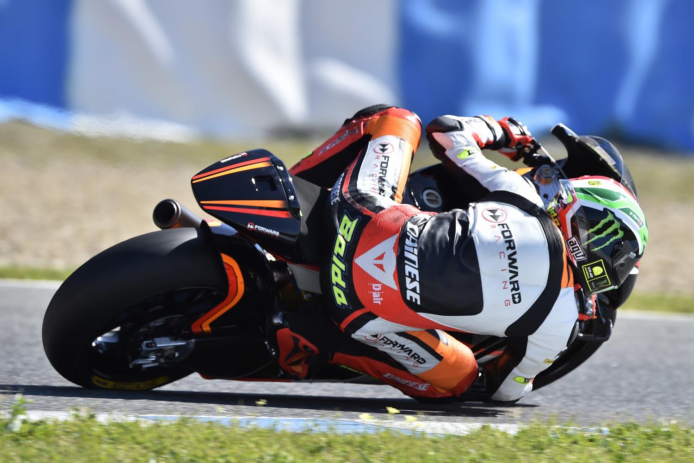 Baldassarri third at the end of Jerez test