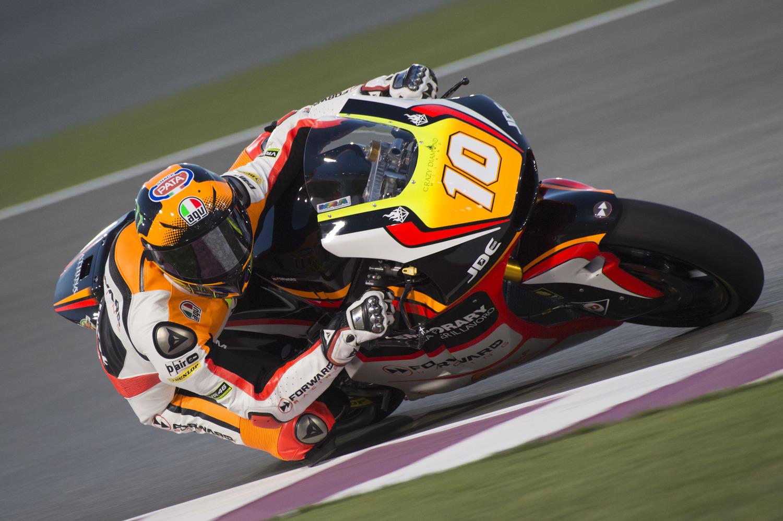 Testing begins in Qatar for Baldassarri and Marini