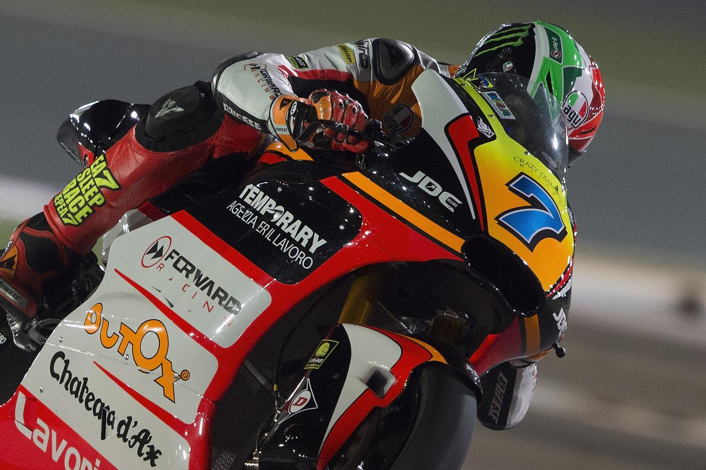 Baldassarri promising fifth and Marini improves at the end of Qatar testing