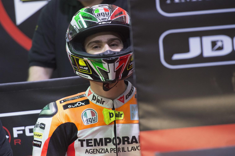 "Baldassarri: ""Tomorrow I want to race"""