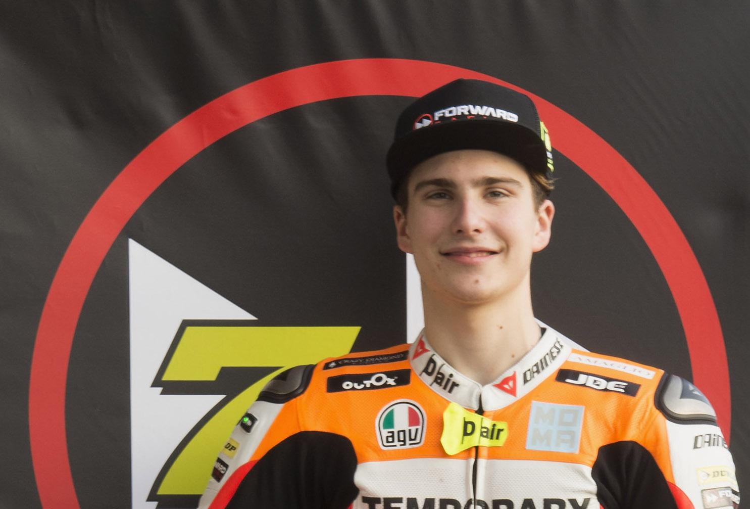 Lorenzo Baldassarri will not race the Grand Prix of Qatar