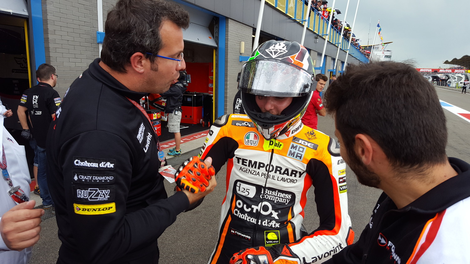 Baldassarri grabs fifth place at Assen