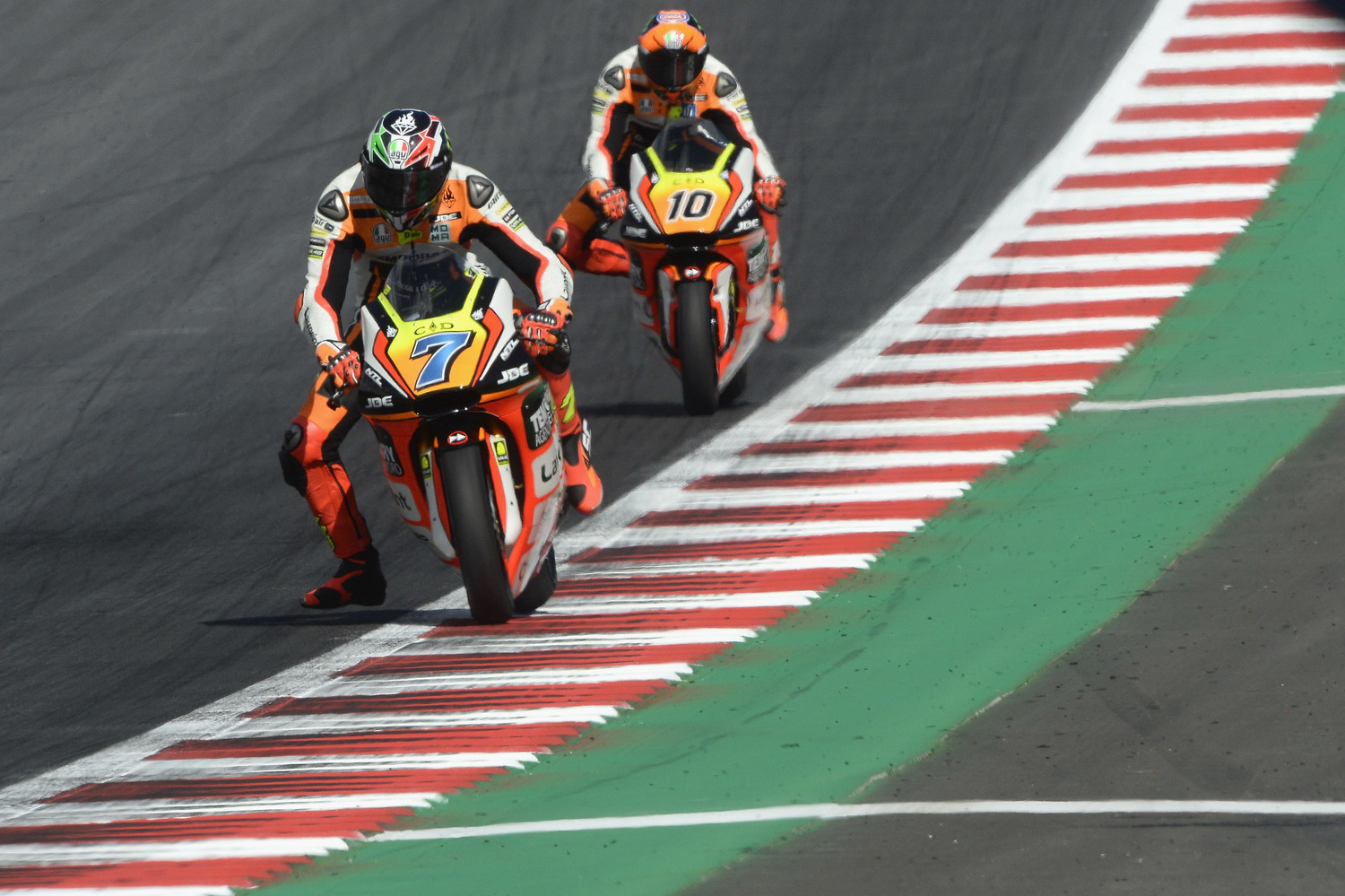 Baldassarri a step away from the Top10, Marini comes back in qualifying