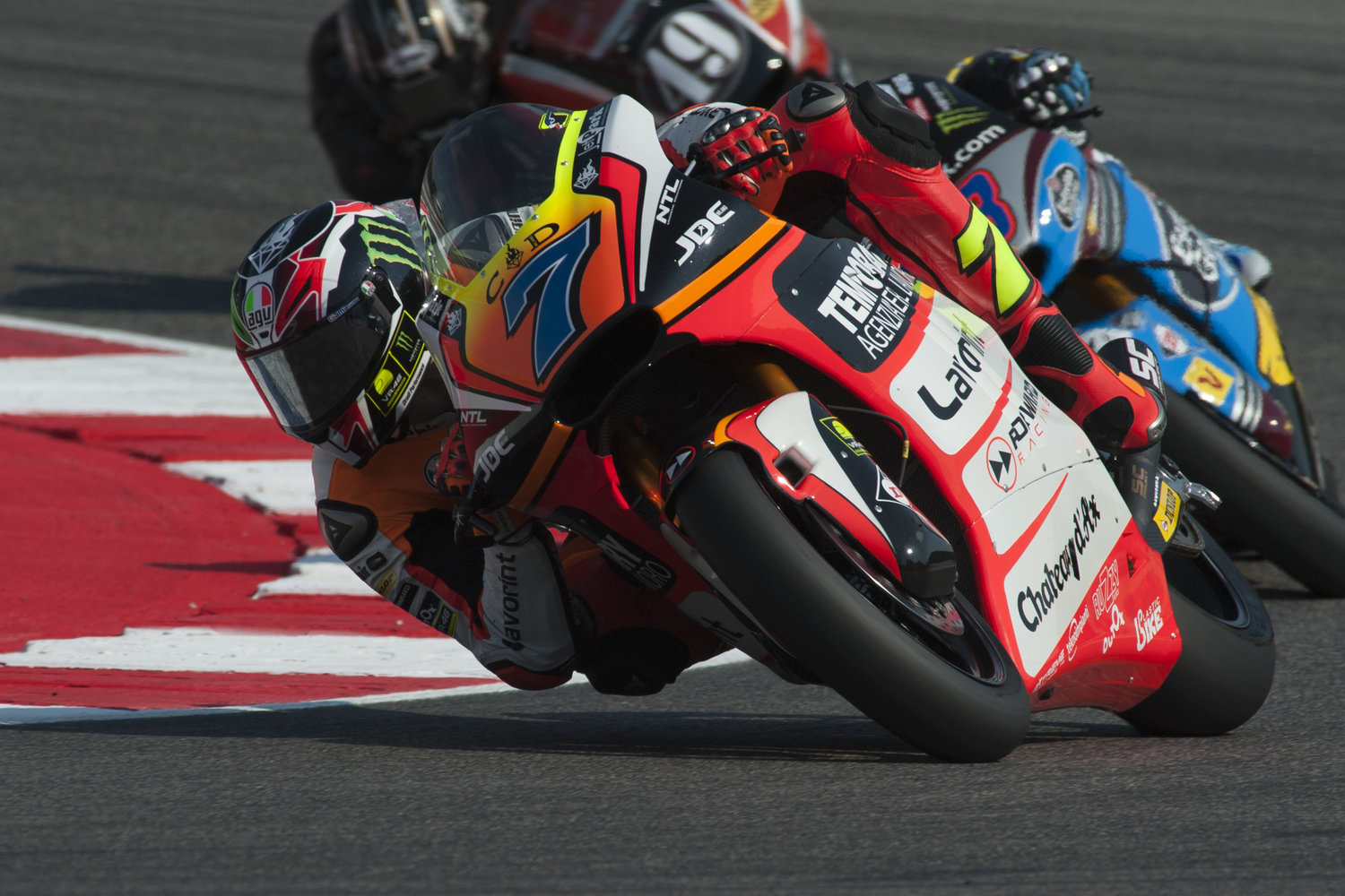 Baldassarri third in Friday's practice at home circuit