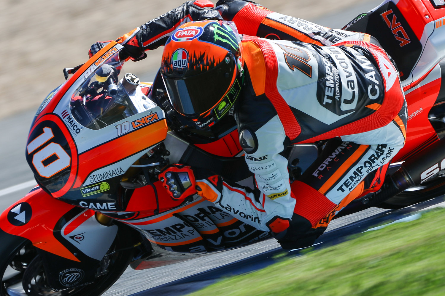 Marini progresses further during first official test in 2017